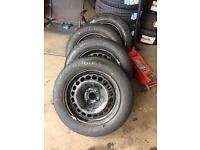Corsa 2011 steal rims with tyres £30