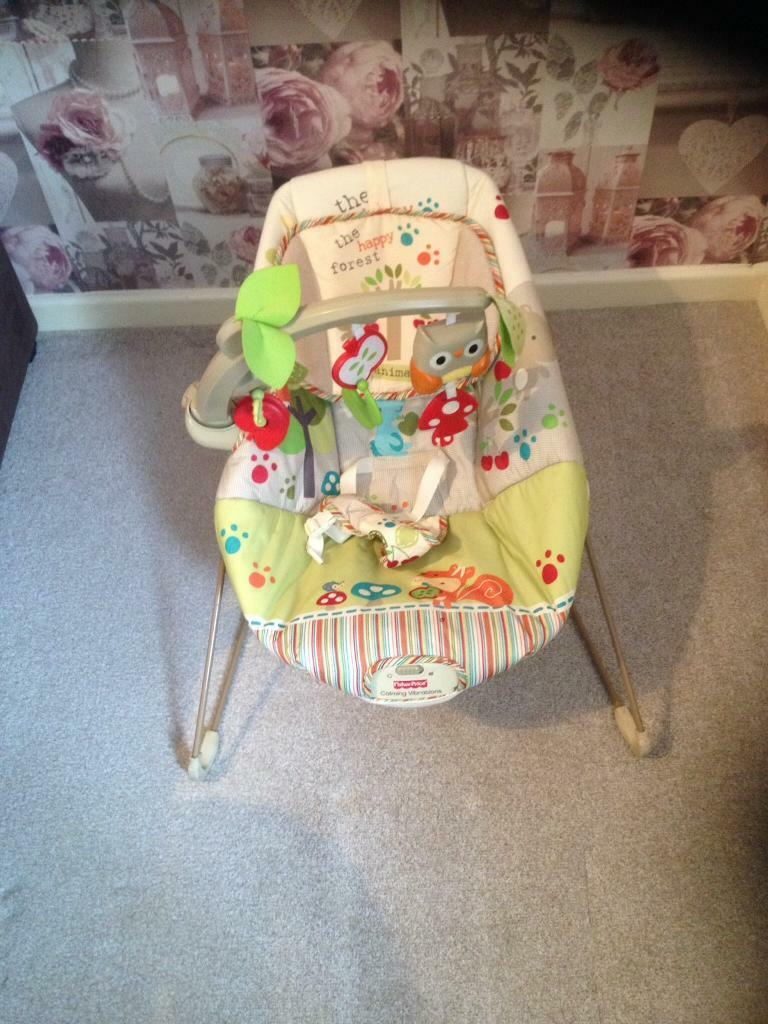 Woodland friends fisher price bouncer