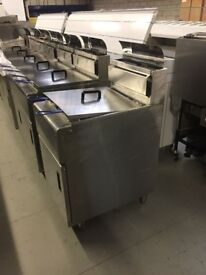 ************** Gas Chip Fryer, Double Tank with 2 Basket *******************