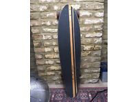 Mindless Corsair Longboard Skateboard - Perfect conditions, new bearings (Bones Reds)