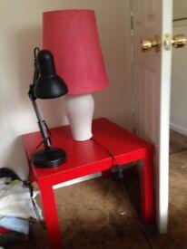 Black work lamp