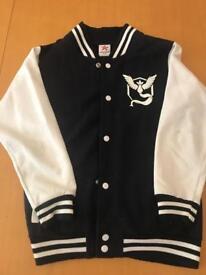 Team Mystic varsity jacket