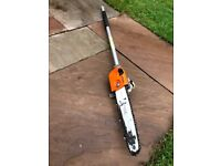 Stihl kombi chainsaw attachment
