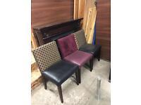 Balmoral heavy hotel chairs £20 each