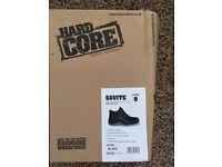 BNIB Sovite Black Steel toe capped safety boots size 9 £15