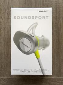 Bose Soundsport Wireless Earphones Bluetooth