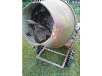 cement mixers x 2 -spares or repair