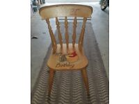 Lovely Winnie The Pooh chair for a OLIVER