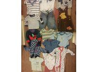 Baby boy clothes bundle size 3-6months