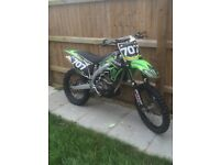 Kxf 450 2011 efi price reduced for quick sale!!