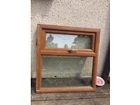 Light oak uvpc window £35