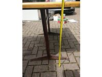 FREE - Wooden and metal table/desk