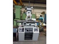 DEDTRU UNISON MODEL 288 GRINDER WITH EQUIPMENT AUTO DOWN FEED YEAR 1996