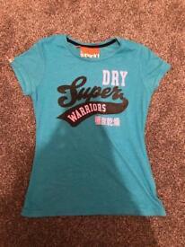 Ladies women's Superdry tshirt size medium