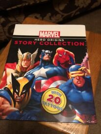 Marvel heroes set of four books