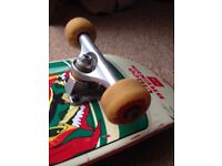 Chico Brenes Skateboard with Independant trucks and Spitfire classic wheels
