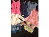 Girls clothes 5 - 6 year old Bundle Second Hand Nearly New