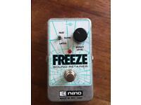 Electro Harmonix Freeze - Sound retainer