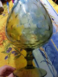 Large Green Wine Glass Vase