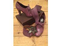 Bally heeled brogues, statement shoe