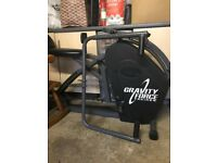 Gravity force excessive machine