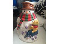 Whinnie the pooh cookie jar