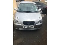 Kia Picanto low mileage and 12 months MOT