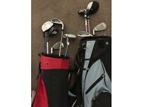 Children's and Women's golf clubs & bags £200 O.N.O