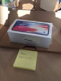 iPhone X 64gb Space Grey Unlocked - IN HAND