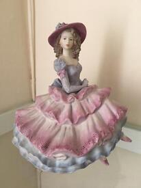 "Coalport figurine - ""Covent garden"""