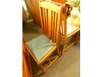 Vintage Dinner Chairs (x4 set) - Charity