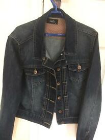 Ladies denim jacket size 14