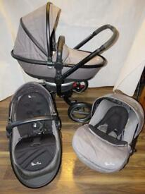 Silver Cross Surf Travel System Slate Grey Huge bundle