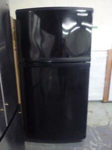 49- Réfrigérateur - Frigidaire  KITCHEN AID  33''  Refrigerator Frigo Noir Black Fridge