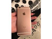 iPhone 6s 64gb in rose gold