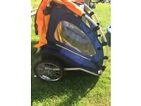 2 seater Cleveland bike trailer