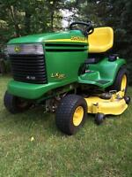 JOHN DEERE LX280AWS LAWN TRACTOR IN PREMIUM CONDITION