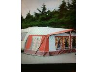 Dorema Montana full size awning, size 14 (975-1000) complete with standard annexe and inner tent.