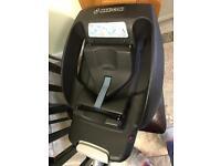Maxi cosi baby car seat base, easy base 2 seatbelt fixing not isofix