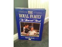 THE ROYAL FAMILY BOOKS X 3 ... £10 ONO