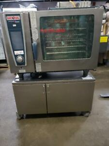 RATIONAL  ** SELF COOKING CENTER *** Convection Combi Steamer GAS model 5 Senses