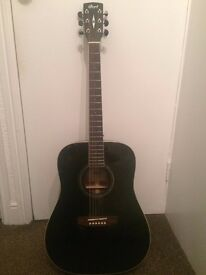 Acoustic guitar (Cort EARTH-100, black)
