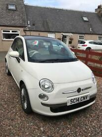 Fiat 500 1.2 Lounge...low mileage!!