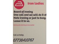 Professional ironing services