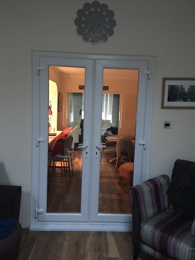 Double glazed French Doors only