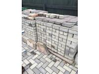Brick Set Paving, 9mtrs x 2.5mtrs