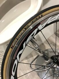 Campagnolo Carbon Bullet 50 Wheels.