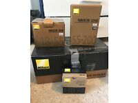 Nikon D3300 with lots of accessories