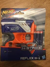 Brand new nerf N-strike reflex