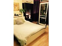 Single big Room with a double bed